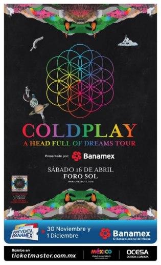 Coldplay confirmó concierto en México en 2016 - coldplay-mexico-foro-sol