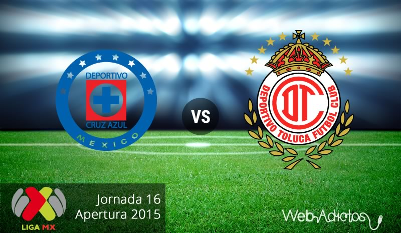 Cruz Azul vs Toluca, Jornada 16 del Apertura 2015 - cruz-azul-vs-toluca-apertura-2015