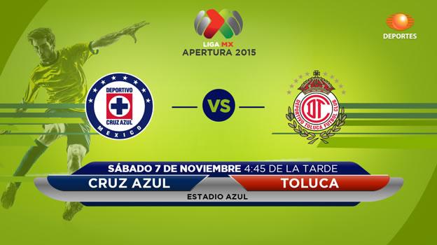 Cruz Azul vs Toluca, Jornada 16 del Apertura 2015 - cuz-azul-vs-toluca-en-vivo-apertura-2015