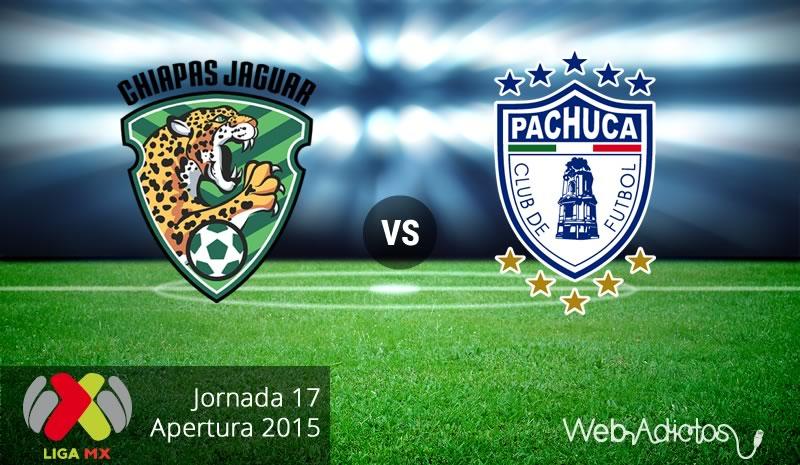 jaguares vs pachuca apertura 2015 Jaguares vs Pachuca, Fecha 17 del Apertura 2015