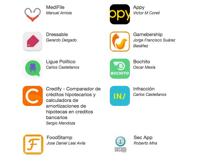 las 10 apps finalistas que competiran en appcircus guadalajara Las 10 apps que competirán en Appcircus Guadalajara