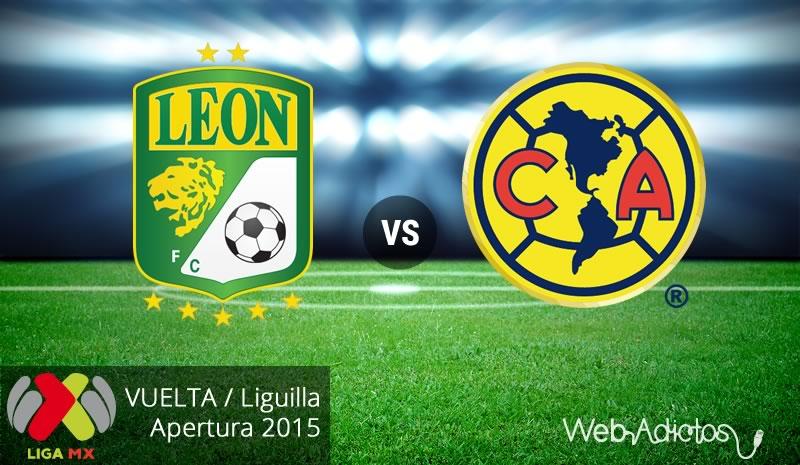 León vs América, Liguilla del Apertura 2015 | Partido de vuelta - leon-vs-america-vuelta-liguilla-apertura-2015