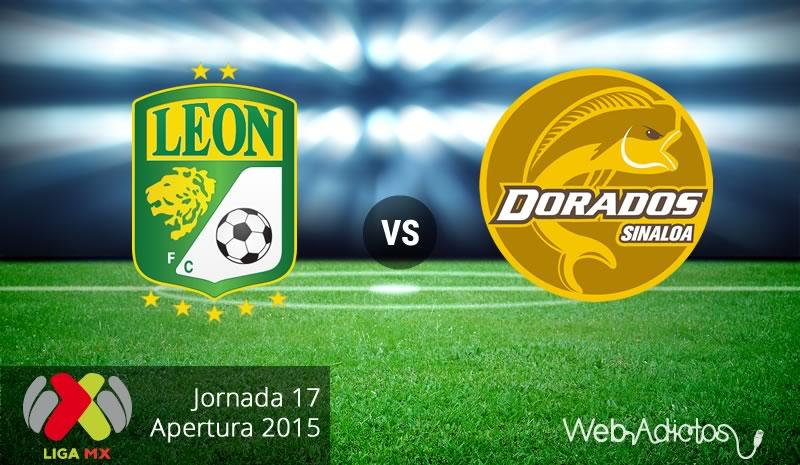 León vs Dorados, Fecha 17 del Apertura 2015 - leon-vs-dorados-apertura-2015
