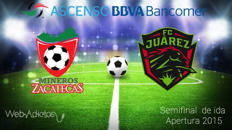 Mineros vs Juarez, Semifinal del Ascenso MX Apertura 2015 - mineros-vs-juarez-semifinal-ascenso-mx-apertura-2015