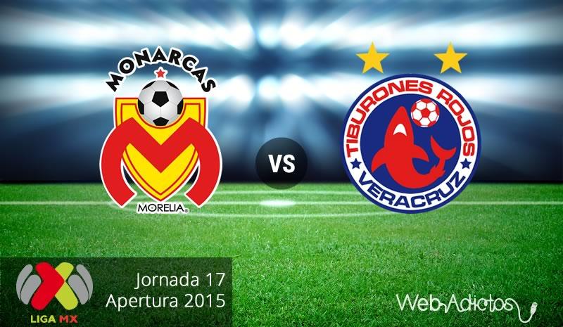Morelia vs Veracruz, última jornada del Apertura 2015 - monarcas-morelia-vs-veracruz-apertura-2015