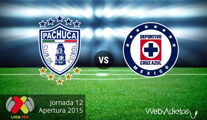 pachuca vs cruz azul apertura 2015 Pachuca vs Cruz Azul, Fecha 12 del Apertura 2015 | Partido pendiente