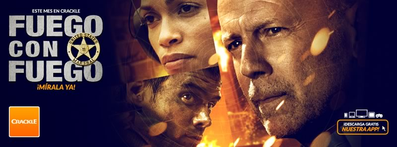 Películas online que puedes ver gratis este mes en Crackle - pelicula-fuego-con-fuego-online-crackle