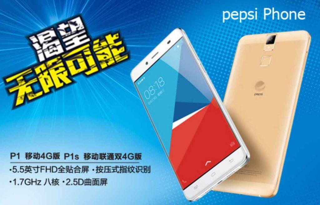 Pepsi Phone P1, el Smartphone de la empresa refresquera - pepsi-phone