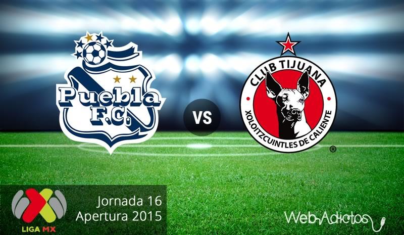 Puebla vs Tijuana, Fecha 16 del Apertura 2015 - puebla-vs-tijuana-apertura-2015