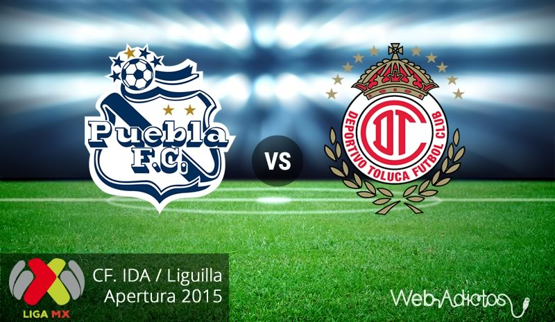 Puebla vs Toluca, ida en la liguilla del Apertura 2015 - puebla-vs-toluca-liguilla-apertura-2015-ida