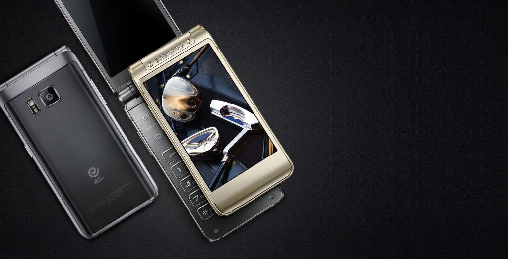 Samsung W2016: un Smartphone con formato tipo concha - samsung-w2016-clamshell-android