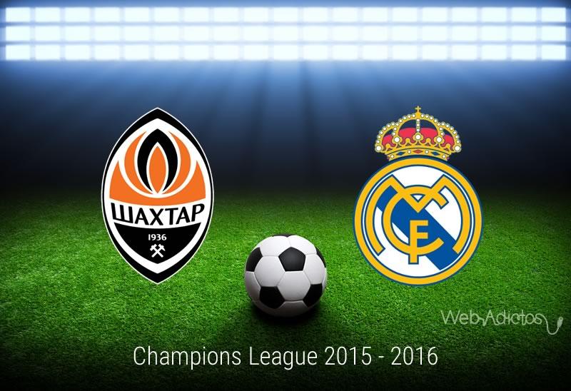 Shakhtar vs Real Madrid, Champions League 2015 - 2016 | Jornada 5 - shakhtar-vs-real-madrid-champions-league-2015-2016