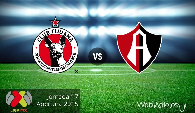 Xolos de Tijuana vs Atlas en el Apertura 2015 | Jornada 17 - tijuana-vs-atlas-apertura-2015