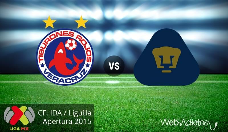 Veracruz vs Pumas, Liguilla del Apertura 2015   Partido de ida - veracruz-vs-pumas-liguilla-apertura-2015-ida