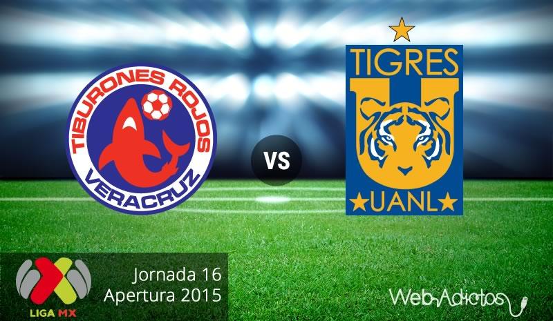 Veracruz vs Tigres, Jornada 16 del Apertura 2015 - veracruz-vs-tigres-apertura-2015