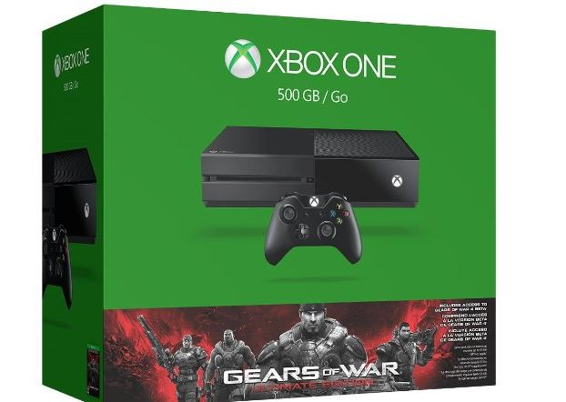 Oferta del día en el Buen Fin de Amazon: Consola Xbox One 500Gb + Gears of War Ultimate Edition Bundle - xboxonebundle