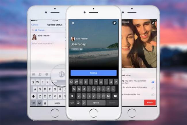 Facebook estaría probando la transmisión de vídeo en vivo. - 650_1200
