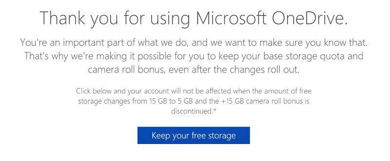 captura de pantalla 2015 12 13 14 52 26 800x331 Microsoft permite a viejos usuarios de OneDrive conservar los 15GB gratis