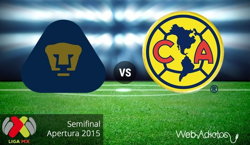 Pumas vs América, Semifinal del Apertura 2015 | Partido de vuelta - pumas-vs-america-semifinal-apertura-2015