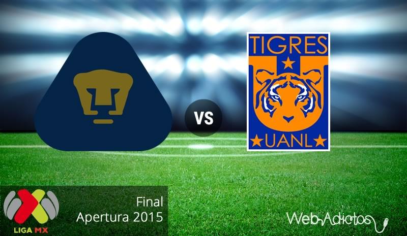 Pumas vs Tigres, Final del Apertura 2015 | Partido de vuelta - pumas-vs-tigres-final-apertura-2015