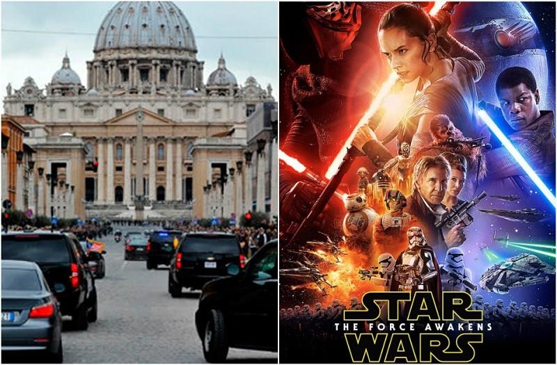 """Diario de El Vaticano lanza fuerte crítica a """"Star Wars: The Force Awakens"""" - vaticano-star_wars-800x525"""