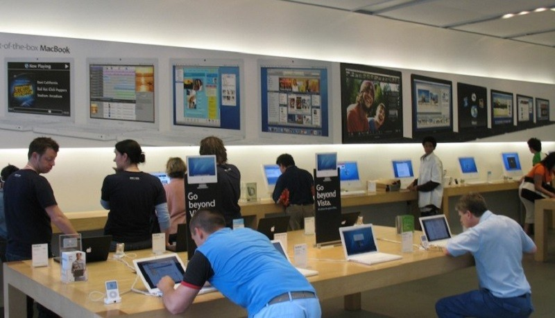 Apple busca trabajadores para su primera tienda en México - apple-store-800x459