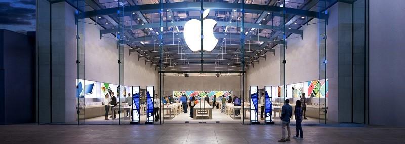 Apple estaría por abrir su primera Apple Store en México - apple-store-santa-monica-800x284