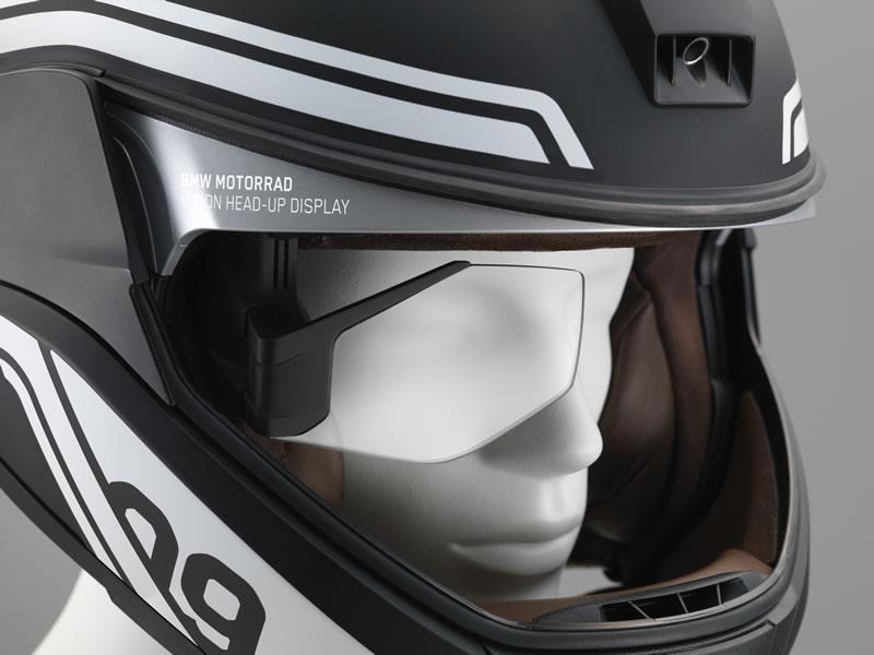 bmw motorrad casco head up display BMW presenta conceptos de luz láser para motocicleta y un casco con Head Up Display