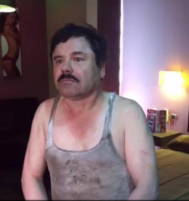 Circula en redes sociales fotos de recaptura del Chapo Guzmán - chapo-captura-2016-enero