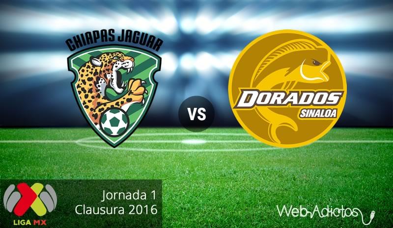 Jaguares vs Dorados, Fecha 1 del Clausura 2016 - jaguares-vs-dorados-clausura-2016
