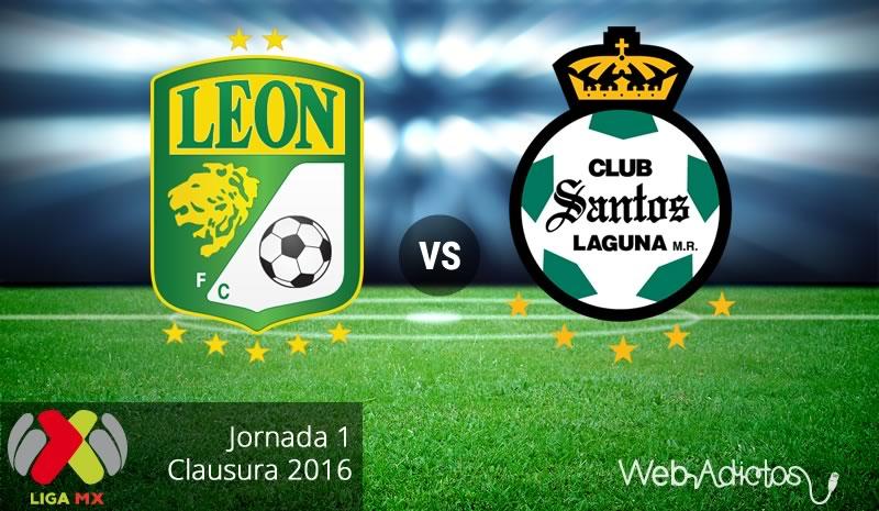 León vs Santos, Jornada 1 del Clausura 2016 - leon-vs-santos-clausura-2016