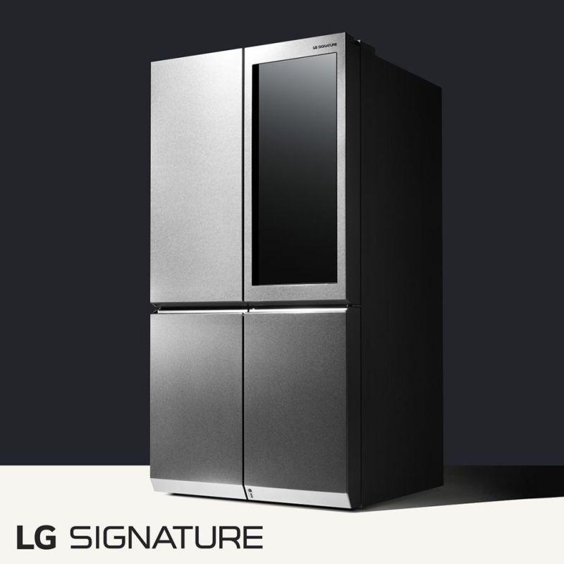 LG presenta su nueva línea LG Signature - lg-signature-refrigerator