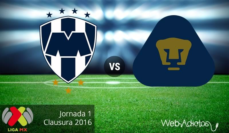 Monterrey vs Pumas en el Clausura 2016 | Jornada 1 - monterrey-vs-pumas-clausura-2016