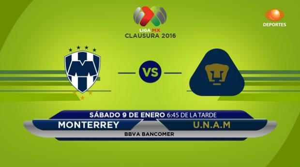 Monterrey vs Pumas en el Clausura 2016 | Jornada 1 - monterrey-vs-pumas-en-vivo-clausura-2016