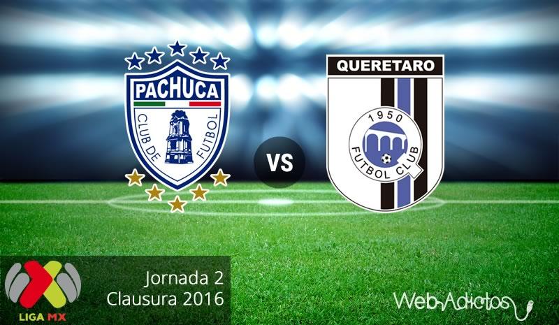 Pachuca vs Querétaro en el Torneo Clausura 2016 | Jornada 2 - pachuca-vs-queretaro-clausura-2016