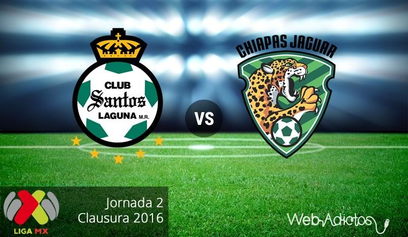 Santos vs Jaguares en el Clausura 2016 ¡En vivo por internet! - santos-vs-jaguares-clausura-2016