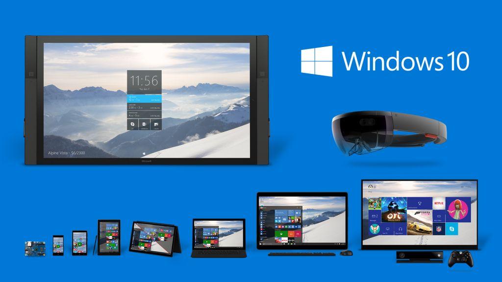 Windows 10 ocuparía el 10% de presencia en el mercado de computadoras - windows-10_product-family