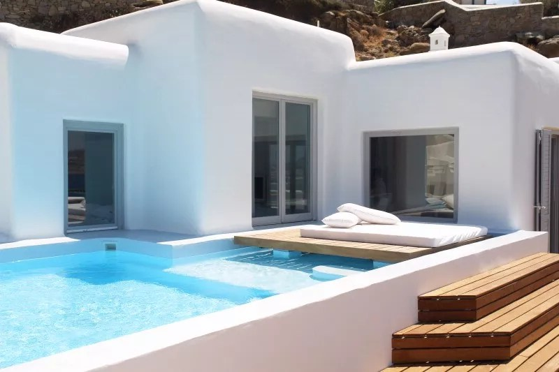 Golden Villa 2Bedroom with Private Pool  Cavo Tagoo