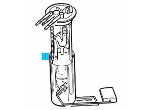 Fuel pump and gauge Opel Frontera-B X22SE Y22SE 3.2-V6