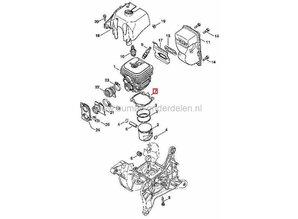 Cilinderpakking STIHL TS410 en TS420, Motorslijper
