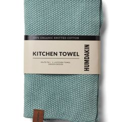 Kitchen Towel Garbage Bags Humdakin Blue Green