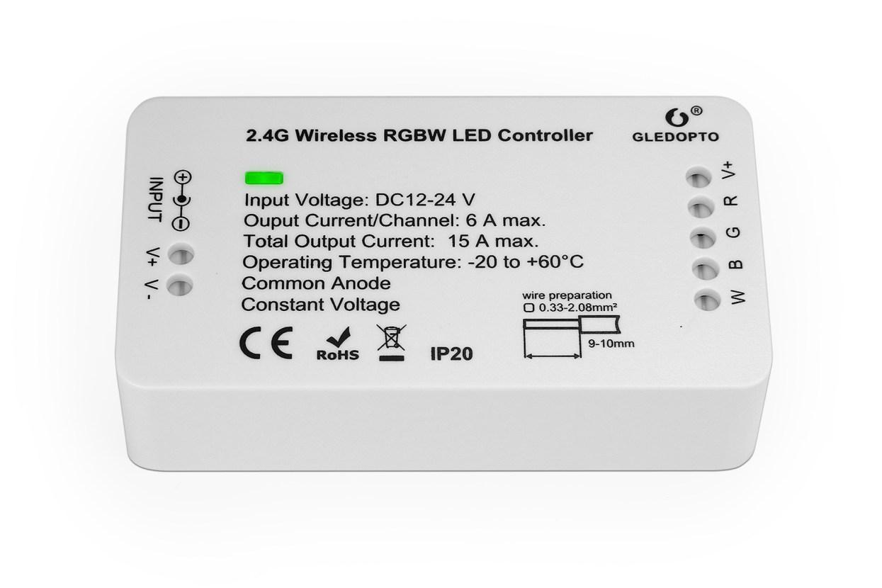 GLEDOPTO RGBW LED Controller ZigBee Light Link (ZLL) GLEDOPTO GL-C-007