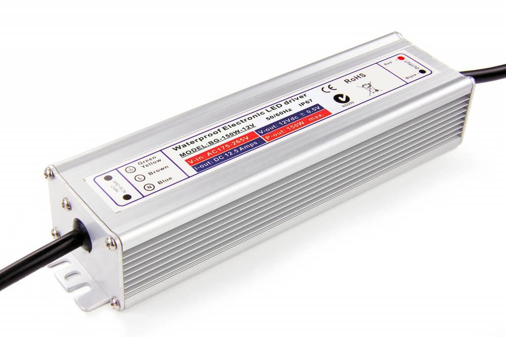 Waterdichte Schakelende Voeding IP67 DC 24 Volt 150 Watt 6 Ampère