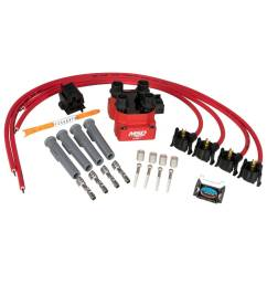 msd ignition msd ignition upgrade kit fiat [ 1024 x 1024 Pixel ]