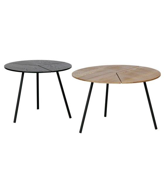 woood table d appoint rodi l o60x38cm en bois brun