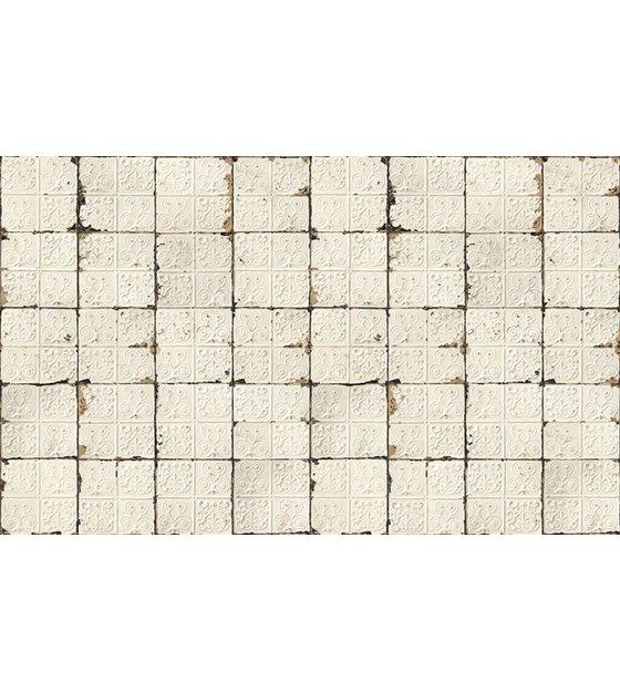 merci brooklyn tins wallpaper white cream tin 02