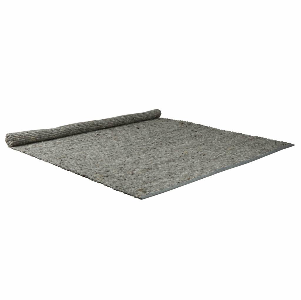 zuiver lumiere tapis laine grise sisal 200x300cm