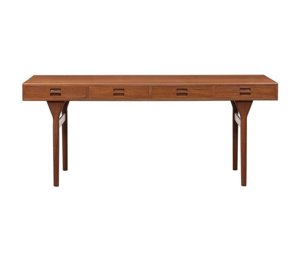 1950s kitchen table cabinet refinishing cost nanna ditzel设计师的1950年代柚木书桌 香港manks