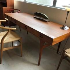1950s Kitchen Table Best Sink Nanna Ditzel设计师的1950年代柚木书桌