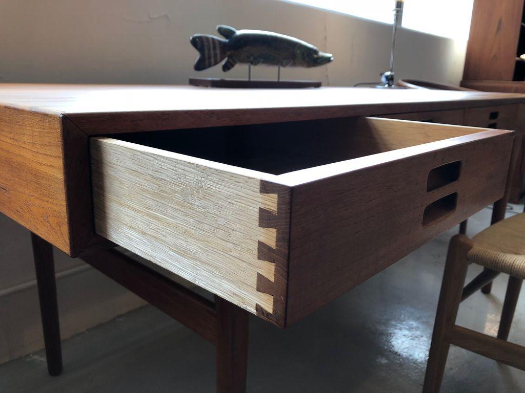 1950s kitchen table kohler sinks nanna ditzel设计师的1950年代柚木书桌